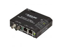 LBH110A-PD-ST-24 - Extreme Media Converter Switch, 10-/100-Mbps Coppe