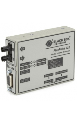 ME661A-MST - FlexPoint RS-232 to Fiber Converter, 1310-nm Multi