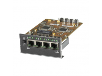 LE1425C - 4-Port Twisted Pair Module for Modular Fiber Switc