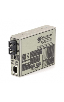 ME662A-SSC - FlexPoint Modular Media Converter, RS-232 to Fiber