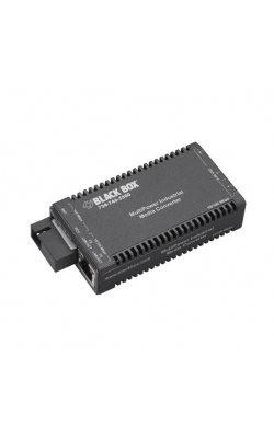 LIC052A-R2 - Industrial MultiPower Media Converter, 10-/100-Mbp