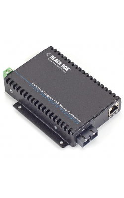 LGC5301A - PoE Industrial Gigabit Ethernet Media Converter -