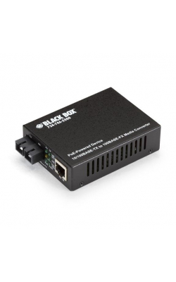 LPD502A - PoE Media Converter, 10BASE-T/100BASE-TX to 100BAS