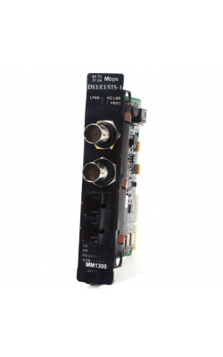 LME023A - High-Density Media Converter Sys II DS3/E3/STS-1 t