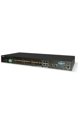 LGB5128A - SFP Gigabit/10-Gigabit Managed Fiber Switch Eco, 2