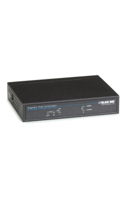 LPR1101 - Gigabit PoE Repeater, (1) PD In, (1) PoE Out