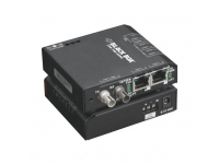 LBH100A-H-ST-24 - Hardened Media Converter Switch, 10-/100-Mbps Copp