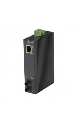 LMC270A-MM-ST - Hardened Mini Industrial Media Converter, (1) 10-/