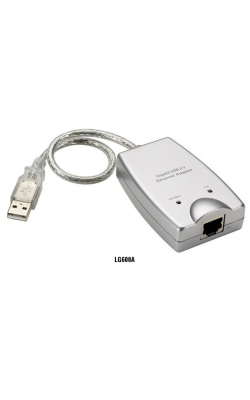 LG600A - USB 2.0 to Gigabit Ethernet Adapter