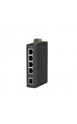 LBH120A-H - Hardened Mini Industrial Switch, (5) 10-/100-Mbps