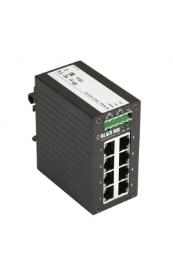LGH008A - Hardened Gigabit Edge Switch - 8-Port