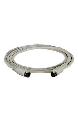 EVMBDC-0025-MF - 5-Pin DIN Cable (CL2), Male/Female, 25-ft. (7.6-m)