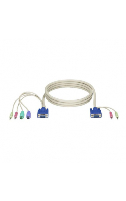 EHN70045-0015 - ServSwitch DT Basic w/Audio Computer Cable, 15-ft.