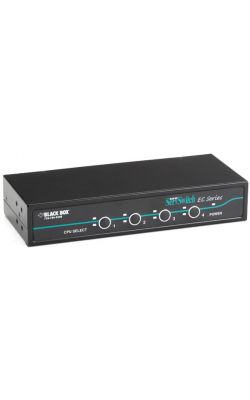 KV9004A - ServSwitch EC KVM Switch for PS/2 Servers and Cons