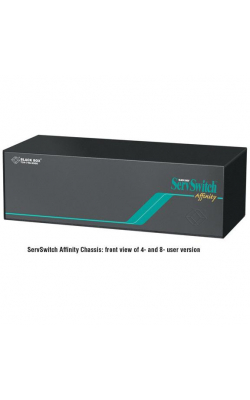 KV130A - ServSwitch Affinity KVM Switch, 4-User Architectur