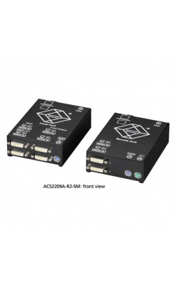 ACS2209A-R2-SM - ServSwitch™ Dual DVI Fiber Optic KVM Extende
