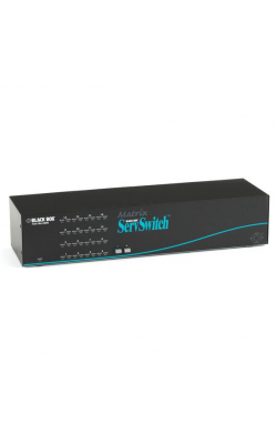 SW766A-R3 - Matrix ServSwitch for PC, 4 Users x 16 CPUs (Full