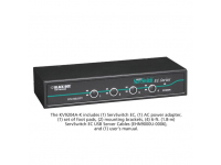 KV9204A-K - ServSwitch EC for PS/2 and USB Servers and PS/2 or