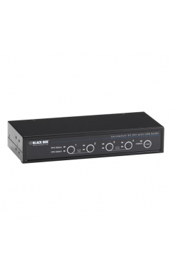 KV9634A - ServSwitch DT DVI w/Bidirectional Audio, 4-Port