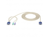 EHN9000P-0015 - ServSwitch CPU Cable for EC Series, PS/2, 15-ft. (