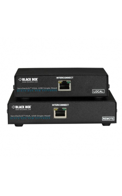 ACU6001A - ServSwitch CATx USB KVM Extender, Single-Head VGA,