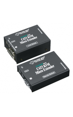 ACU3009A - ServSwitch™ CATx KVM Micro Extender Kit, Dual-Ac