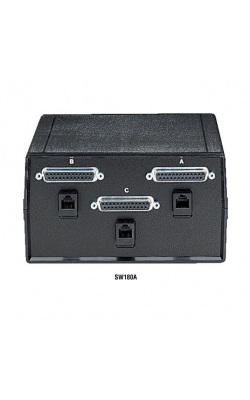 SW180A - ABC Dual Switches, DB25 and RJ-11, Chassis Style B