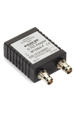 MT256A-F - G.703 75â 120 Adapter, Female w/1.6/5.6 Coax Conn