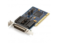 IC187C-LP - Low-Profile PCI Card, 16850 UART, Dual-Port, RS-23