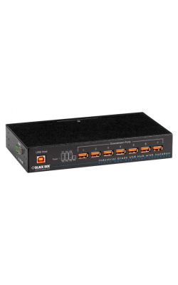 ICI208A - Industrial-Grade USB Hub, 7-Port w/Isolation