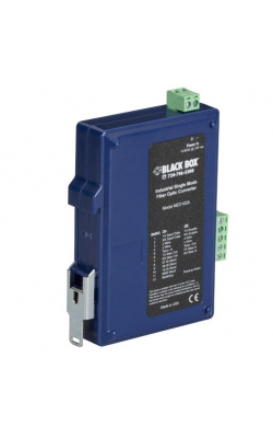 MED102A - Industrial DIN Rail RS-232/RS-422/RS-485 Fiber Dri