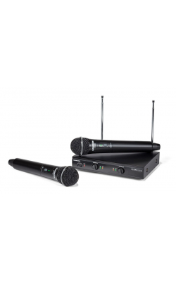 SWS200HH-A - Stage 200 Dual Vocal Wireless System (2) Q6 Dynami