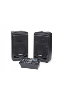 "XP800 - Portable PA -Stereo 8"" 2-way Monitors with re"