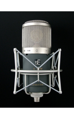 GEMINI II - Dual-Tube Cardioid condenser with -10dB pad and hi