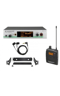 EW 300 IEM G3-A1-US - SR300IEM G3 rack-mountable stereo transmitter with