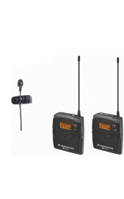 EW 122P G3-A1 - SK100 G3 bodypack transmitter, ME4 cardioid lavali