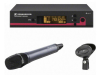 EW 135 G3-A1-US - SKM100 G3 handheld transmitter with e835 cardioid