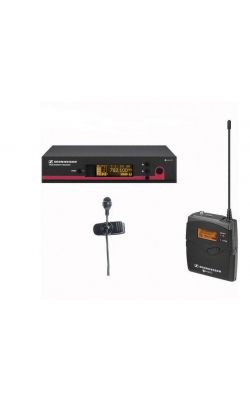 EW 122 G3-A1-US - SK100 G3 bodypack transmitter, ME4 cardioid lavali