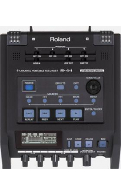 R-44E - Compact Four-Channel Portable Recorder