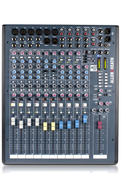 AH-XB2-14 - 4 Mic Line + Dual Telco, compact broadcast console