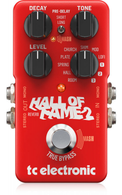 960661001 - TC ELEC Hall of Fame 2 Reverb