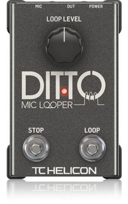 DITTO MIC LOOPER - TC HELICON DITTOMICLOOPER