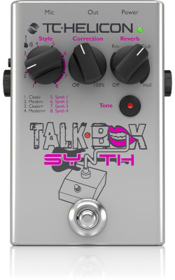 TALKBOX SYNTH - TC HELICON Talkbox Synth