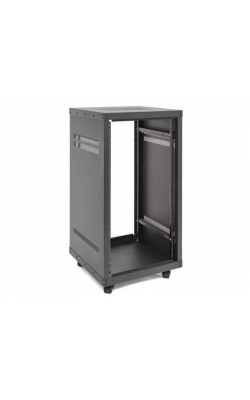 "SRKPRO21 - 21-Space Equipment Rack, 21U, 24"" Depth"