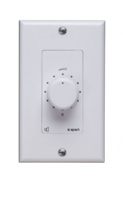 D-VOL30 - 70 volt, 30 watts Decora volume control, white