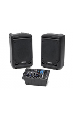 "XP300 - Portable PA -Stereo 6"" 2-way Monitors with re"