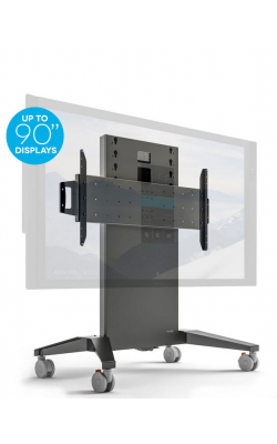 FPS1XL/FH/GG - Mobile Stand, XL Fixed Height- Graphite and Gray