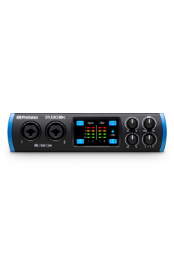 STUDIO 26C - 2x4, 192 kHz, USB-C Compatible Audio Interface