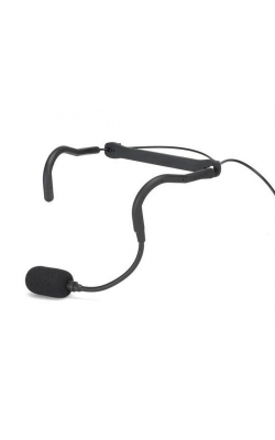 "QEX - Fitness Headset Microphone, 1/8"" (3.5mm), Hir"