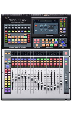 STUDIOLIVE 32SC - Subcompact 32-channel/22-bus digital console/recor